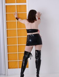 Hot PVC Thigh Boots